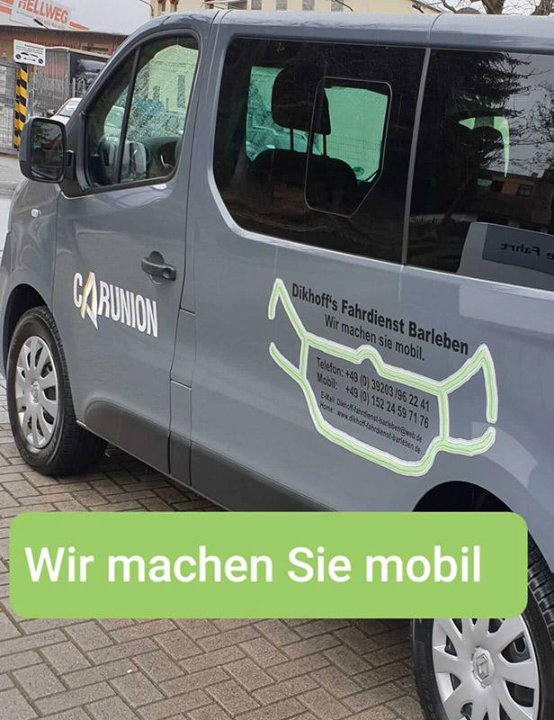 Wir machen Sie mobil